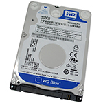 "Жесткий диск 2.5"" Western Digital Blue, 500 GB"