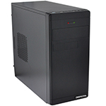 Корпус ATX mini tower DeepCool, Wave v2, (без БП), black