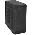 Корпус ATX midi tower Qmax KB13B, (400W), черный