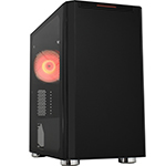 Уц. Корпус MATX mini tower APEX R03 (закаленное стекло), black